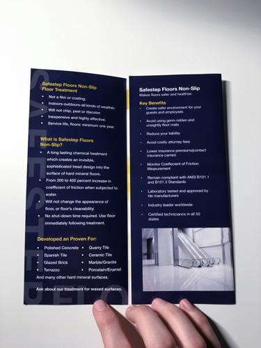 Opening of Brochure